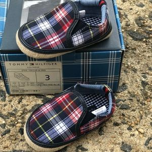 Baby Tommy Hilfiger shoes. NWB.